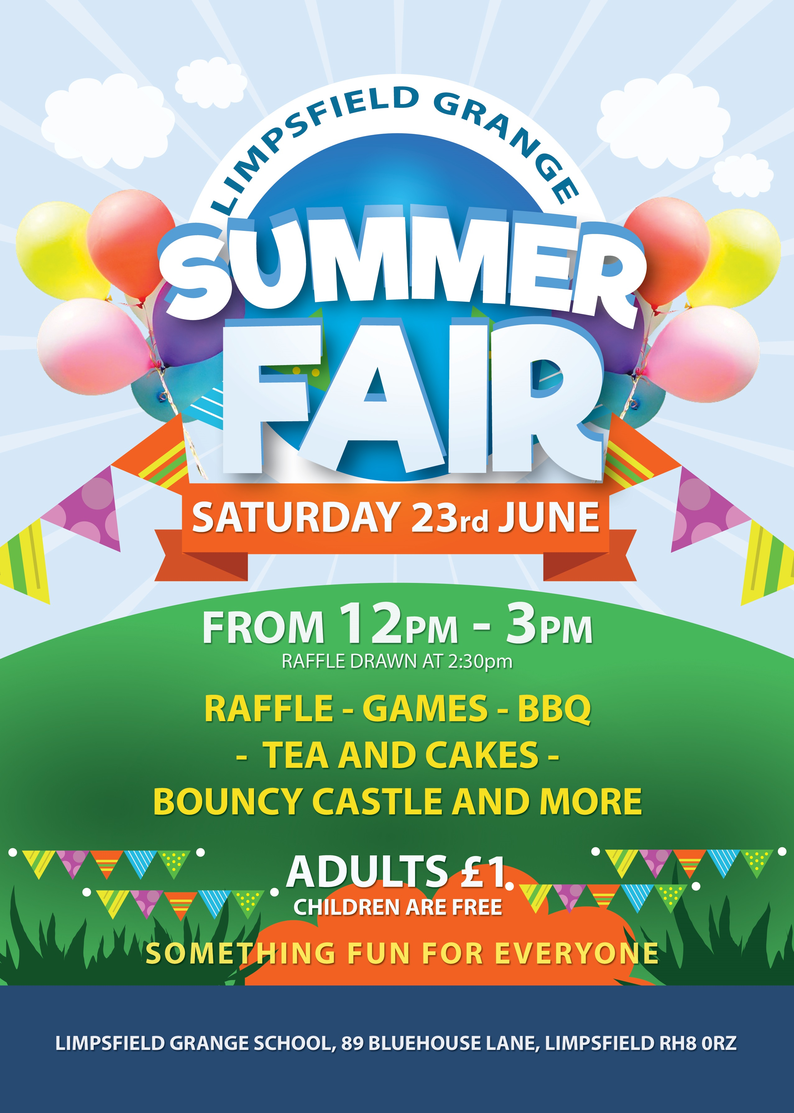 Summer Fair LGS flyer