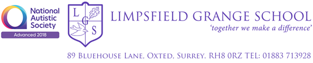 Limpsfield Grange School Mobile Logo