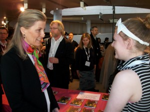 Beth with the Countess of Wessex